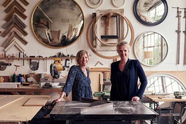 Reid & Wright mirrors workshop