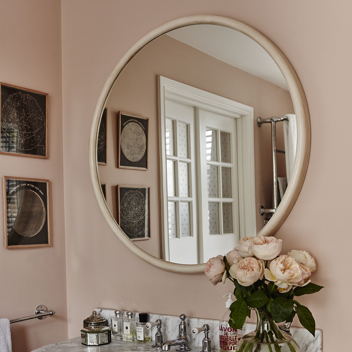 Reid & Wright plain mirror