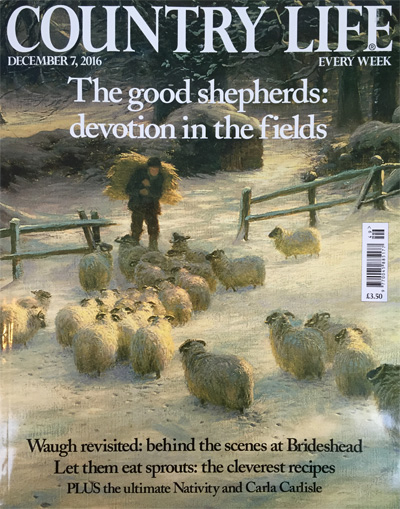 Country Life 7th December 2016 Reid & Wright mirrors