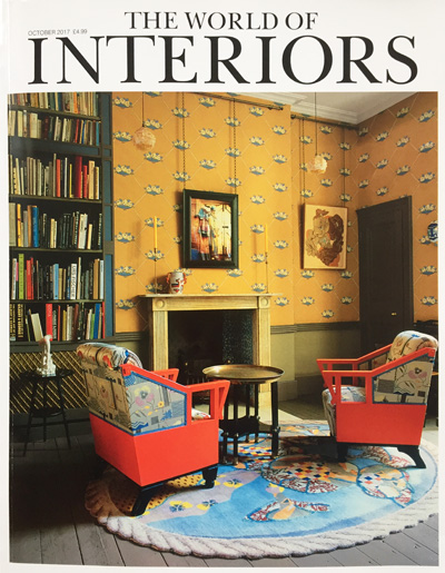 The World of Interiors October 2017 antennae Reid & Wright mirrors