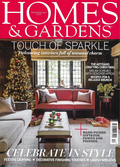 Homes & Gardens December 2017 Reid & Wright mirrors