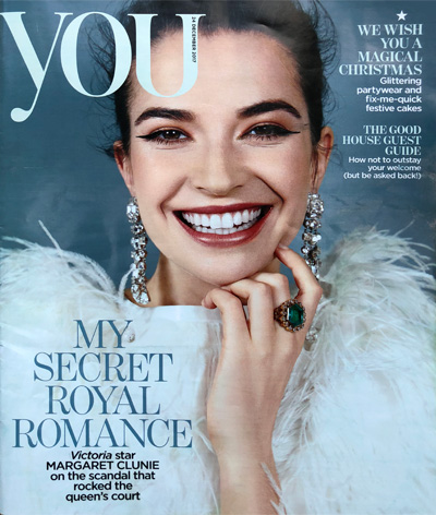 YOU magazine 24 December Tiffany Duggan Reid & Wright mirror