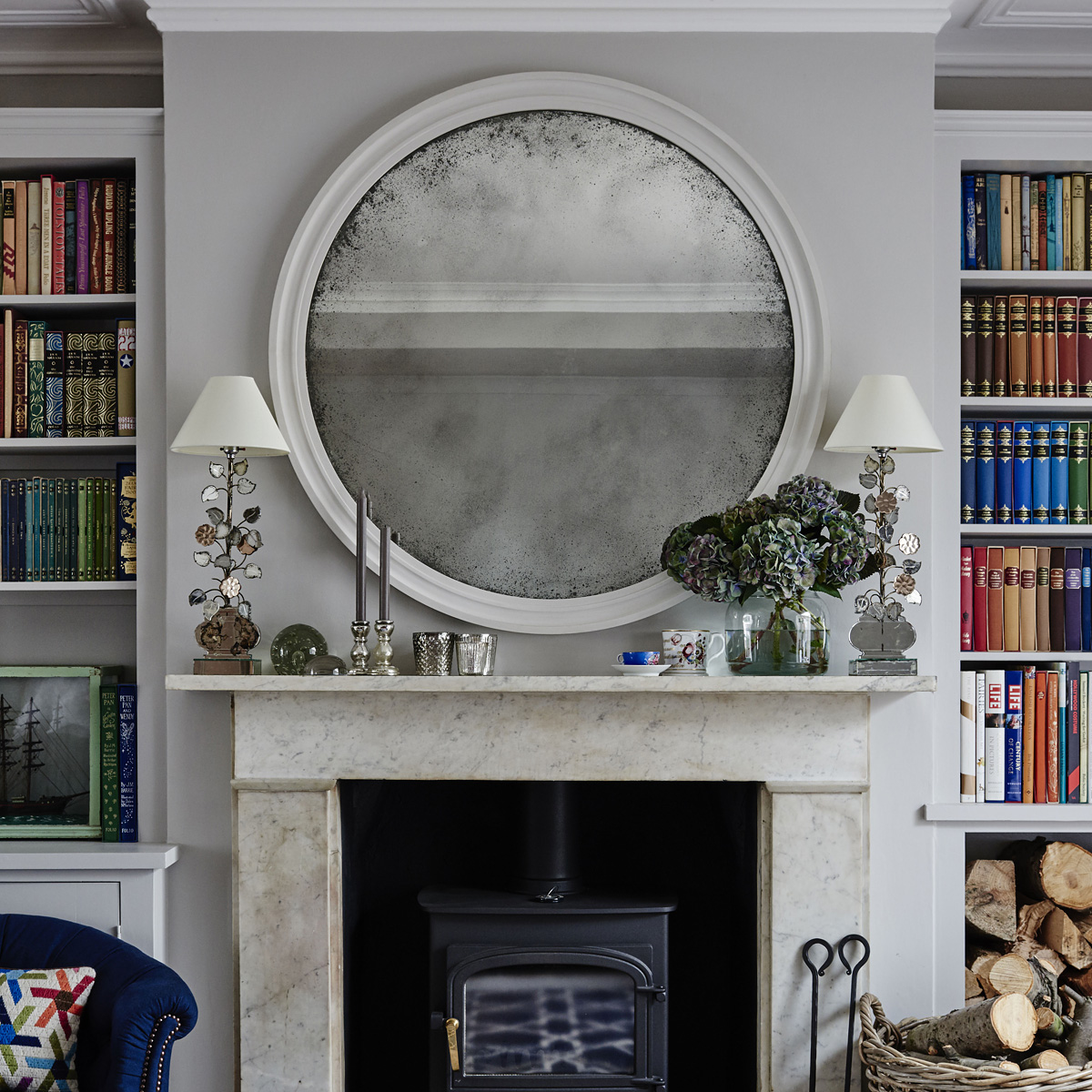 Reid & Wright Antiqued mirror
