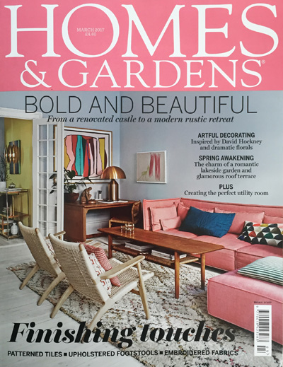 Homes & Gardens March 2017 Reid & Wright mirrors