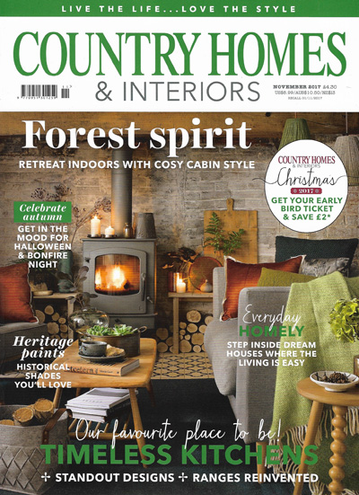 Country Homes & Interiors November 2017 Reid & Wright mirrors