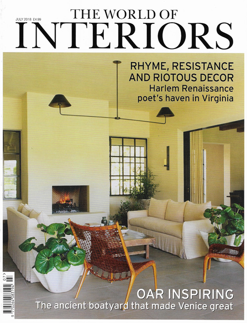 The World of Interiors July 2018 Reid & Wright mirrors