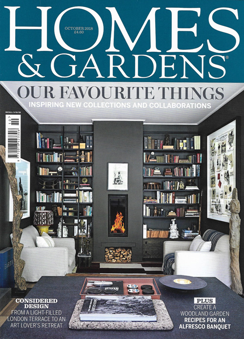 Homes & Gardens October 2018 Reid & Wright mirrors