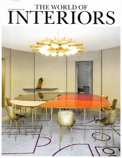 The World of Interiors October 2018 Reid & Wright mirrors