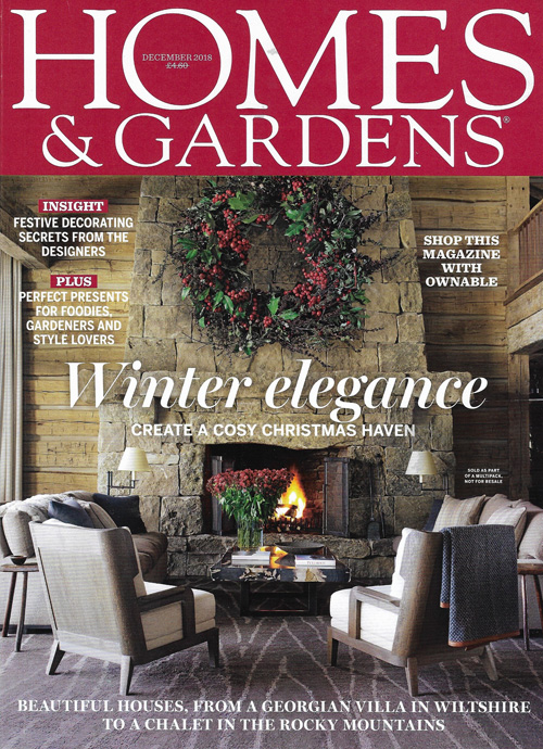 Homes & Gardens December 2018 Reid & Wright mirrors