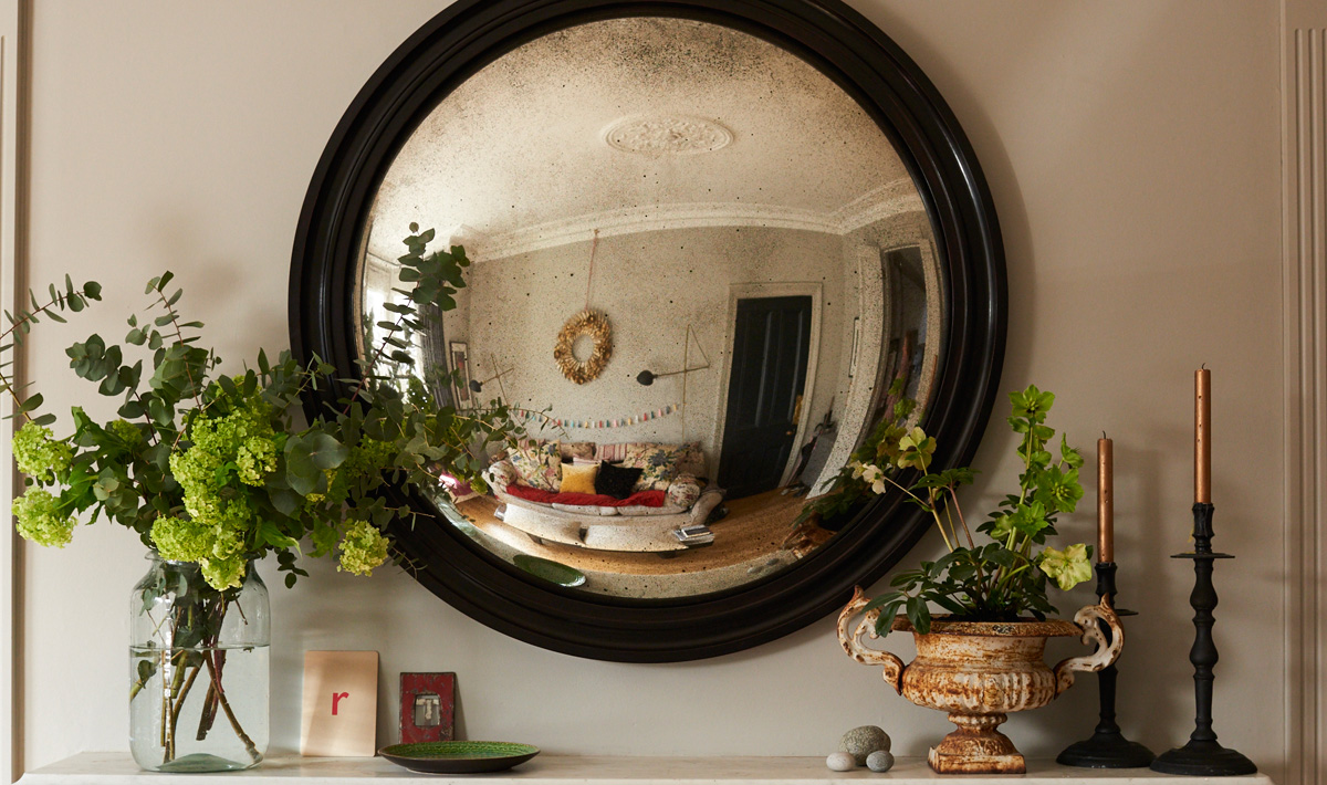 Reid and Wright ebony ridge mirror