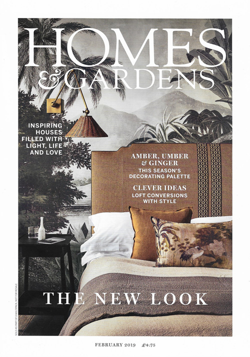 Homes & Gardens February 2019 Reid & Wright mirror