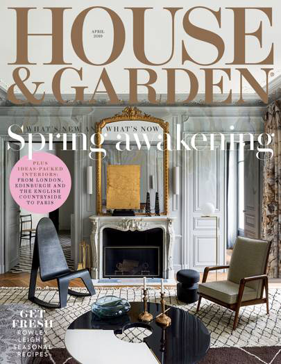 House & Garden April 2019 Reid & Wright mirrors
