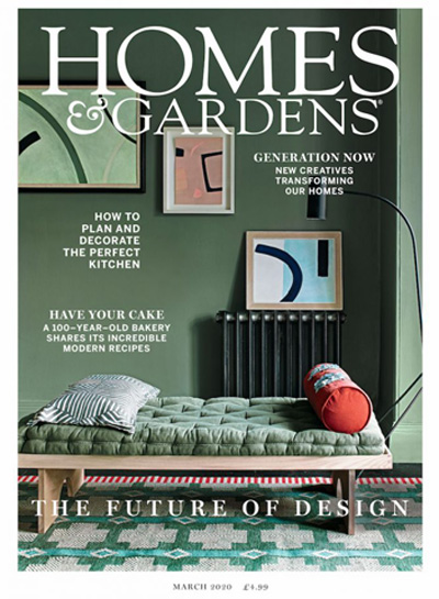 Homes & Gardens March 2020 Reid & Wright mirrors