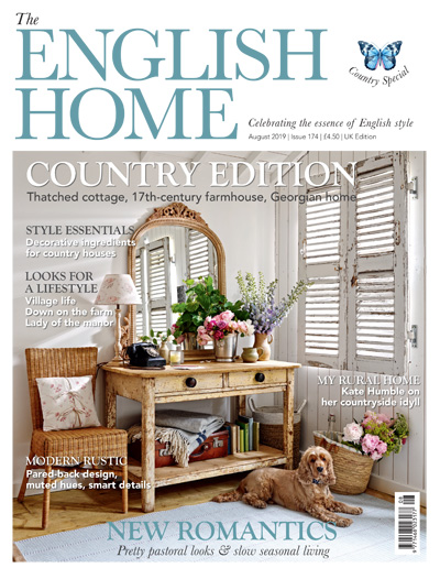 The English Home August 2019 Reid & Wright mirrors